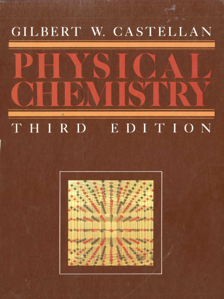 Physical Chemistry 3th Castellan Entropy Chemical Equilibrium