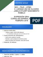 Expresion Oral Español a1.2 Cenex Ufmg 2018 Febrero Oswald Stuart Larissa