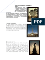 Obras y Esculturas de Guatemala
