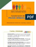 Caracterización Policía