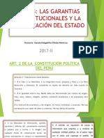 Tema 4 Las Garantias Constitucionales y La Organización Del Estado (1)