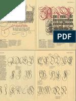 Exemplos de Letras Calligraphy Book