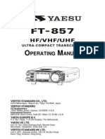 Yaesu FT-857 Operating Manual