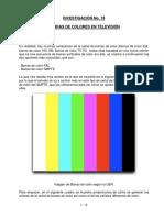 19 Barras de Colores en Tv