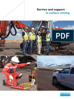 Service and Support in Surface Mining