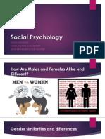 Mercado - Social Psychology