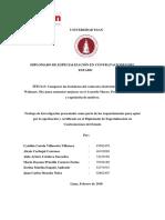 Diplomado Universidad ESAN - TESINA.