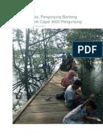 16 Hari Dibuka, Pengunjung Bontang Mangrove Park Capai 3000 Pengunjung