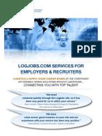 Logjobs Services Sales Brochure