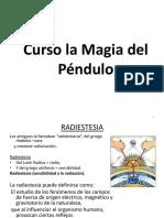 Curso la Magia del Péndulo 17 junio 2017