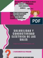 Practica #5 Solubilidad y Conductividad 258-A Equipo #1