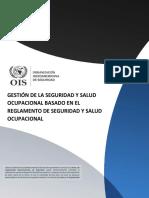 Gestión de La Seguridad y Salud Ocupacional Basado en El Reglamento de Seguridad y Salud Ocupacional