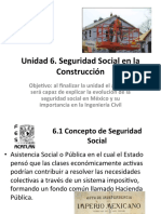 Unidad 6. Seguridad Social