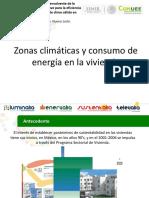 Zonas Climáticas y Consumo de Energía en La Vivienda