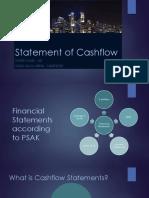 Statement of Cashflow