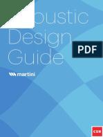 Martini Acoustic Design Guide Bradford