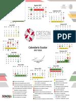 Calendario Creson Upn