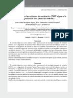 Comparación de tecnologías de oxidación (TAO´s) para la degradación del pesticida Mertect