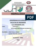 HIDROLOGIA-ESCORRENTIA