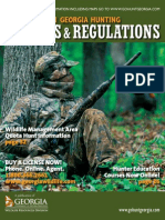 Georgia 2010-2011 Hunting Regulations