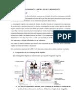 Cromatografía Líquida de Alta Resolución