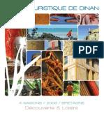 Le Pays touristique de Dinan 2009