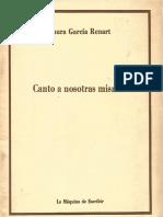 Laura García Renart. Canto a nosotras mismas. México, 1982