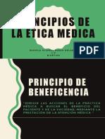 Principios de La Ética Medica