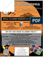 Halloween Events at The Creative Space 2010