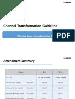 Channel Transformation Guideline (3)