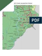 Peta Barito Timur