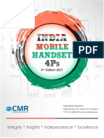 CMRs India Mobile Handset 4Ps Report 2017