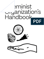 A Feminist Organizatio´s Handbook. Our Administrative Protocols, etc. By the Women´s Center for Creative Work for Web Download