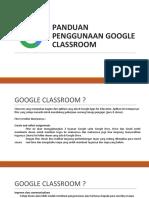 Tutorial Classroom 2017