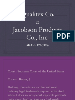 Qualitex v. Jacobson
