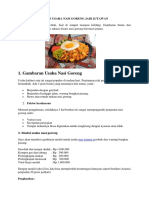 10 Tips Usaha Nasi Goreng Jadi Jutawan