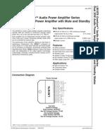 Datasheet LM1876