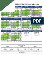 Calendário Escolar 2017-2018
