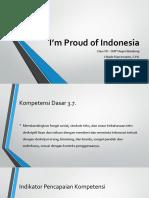 I'm Proud of Indonesia
