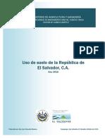 Uso de Suelo de La Republica de El Salvador 2010