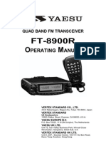 Yaesu FT-8900R Operating Manual