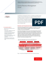 Revenue Management Datasheet