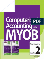 Computerised Accounting With MYOB 2