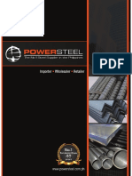 Power Steel Company Brochure 2017