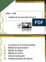 Tema 5 (II)-Análisis de La Escena Del Crimen II