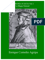 Agrippa, Cornelio - Filosofia Oculta Volumen 1
