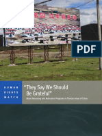 HRW - They Say We Should Be Grateful; Mass Rehousing and Relocation Programs in Tibetan Areas of China (2013).pdf