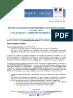 Pollution Atmosphérique Seuil d'Alerte