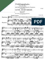 Frühlingsglaube - Schubert
