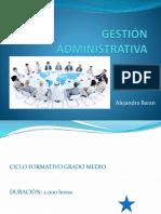 Ciclo Formativo Gestión Administrativa